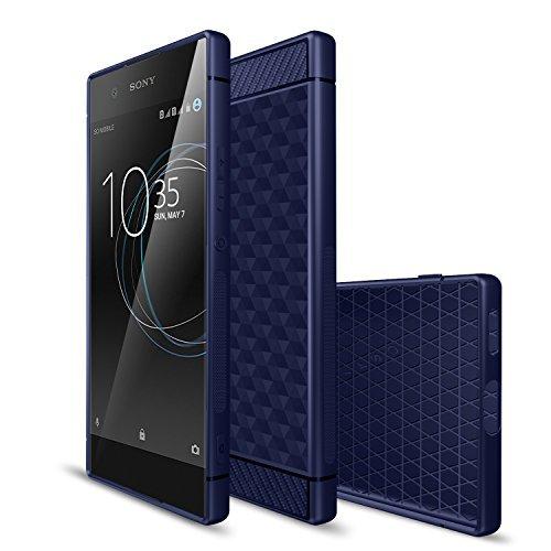 Sony-Xperia-XA1-hlle-KuGi-Sony-Xperia-XA1-hlle-Fall-Schlank-bereift-Stil-weichen-TPU-hlle-fr-Sony-Xperia-XA1-smartphone
