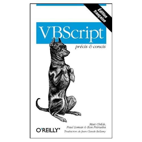 VBScript précis & concis