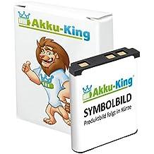 Akku-King Batería para Alcatel One Touch Evolve, Evolve 2, Fire, Glory 2T, Inspire 2, Pixi 3 4.5, Pixi Pulsar, Pixi Pulsar LTE - como CAB1400002C1, CAB31C00002C1, TLi014A1 - Li-Ion 1300mAh
