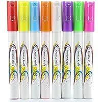Pennarello a gesso liquido, Acrilico, Multi, 3 mm Liquid Chalk Marker
