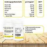 GC Ex, 1500 mg Garcinia Cambogia Extrakt, 90 Kapseln in Premiumqualität, hochdosiert, 100% natürlich 1er Pack (1x 77g) - 3