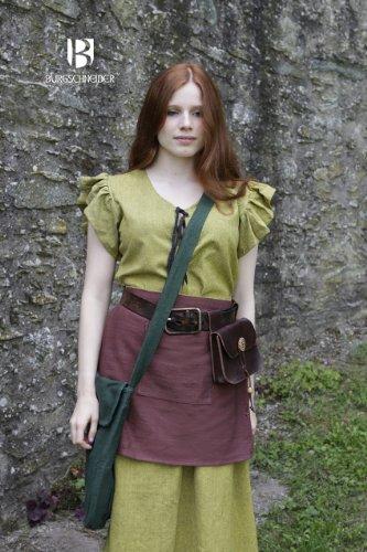 Mittelalter Tasche Ehwaz – Grün von Burgschneider - 2