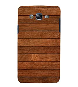 printtech Wooden Pattern Back Case Cover for Samsung Galaxy J5 / Samsung Galaxy J5 J500F