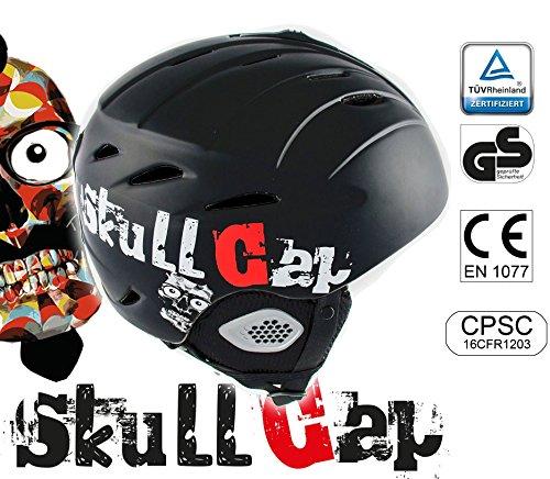 >> 39€ statt 79€ - Skihelm / Snowboardhelm schwarz für Männer und Frauen - Sicher - leicht - sitzt felsenfest