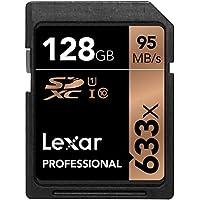 Lexar Pro Carte SDXC 128 Go UHS-I 633x - LSD128GCB1EU633