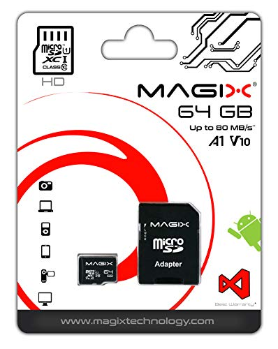 Magix Micro SD Card HD Series Class10 V10 + SD Adapter