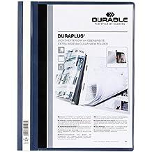 Durable 2579-07 - Dossier con lomera, color azul oscuro