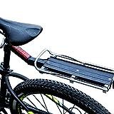 Gimitunus Bike Commuter Carrier Rack mit Sattelstütze Schnellspanner Universal Rear Mount für Fahrrad Cargo