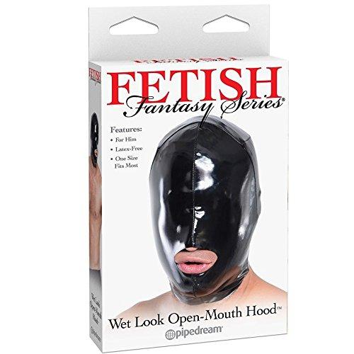antasy - nasses Aussehende offene Mund Maske (Für Ihn), 1er Pack ()