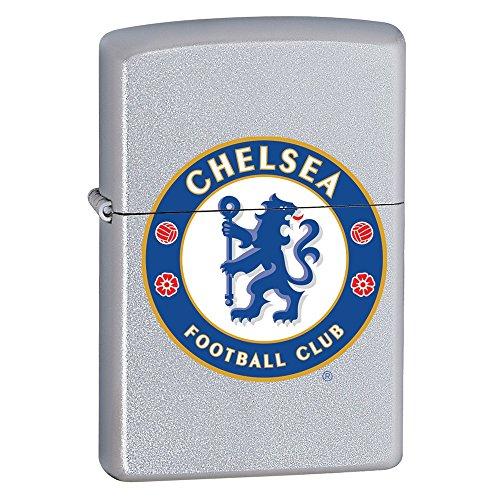 Zippo 2.002.962 Feuerzeug FC Chelsea, Premier League, Satin Finish