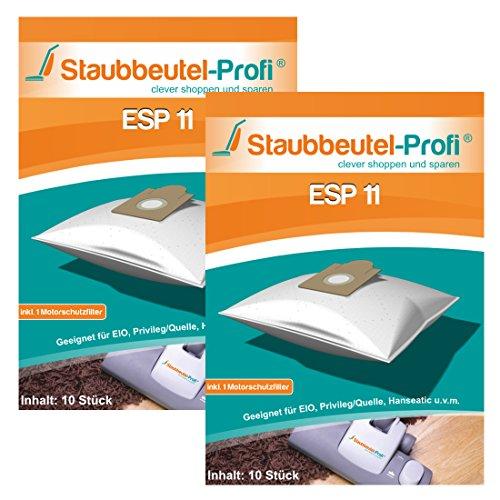 20 Microvlies Staubsaugerbeutel passend für EIO BS 83//1 Vision