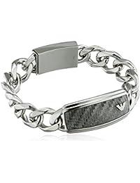 Emporio Armani Men's Silver Bracelet EGS1688040