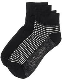 Levi's Herren Socken 168SF MID CUT STRIPE 2P, 2er Pack