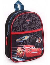 Preisvergleich für Cars Backpacks Rucksack Cars 3 Fast as Lightning Schwarz One