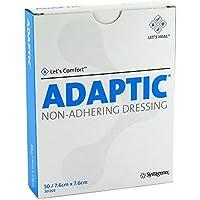 Adaptic 7,6x7,6cm 2012de feuchte Wundauflage 50 stk preisvergleich bei billige-tabletten.eu