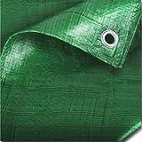 2unidades fuerte verde TheChemicalHut–Lona aislante impermeable para Camping, pesca, jardinería y Pets–2,4m x 3m/8ft x 10FT–viene con TCH anti-bacterial pluma.