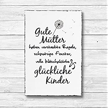 Gute Mütter – Dekoschild Wandschild Holz Deko Wand Schild 20x30cm Holzdeko Holzbild Geschenk Mitbringsel Geburtstag