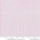 Moda First Romance Honey Bun Floral Garden Gate Pink