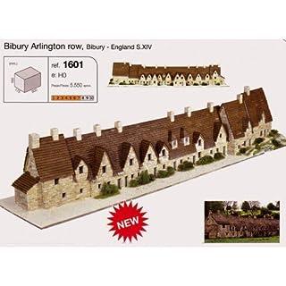 Aedes 1601 Bibury Arlington Row Model Kit, Multi-Color