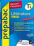 Prépabac Littérature Tle L bac 2014: Lorenzaccio, Les Mains libres