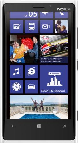 Nokia Lumia 920 Smartphone ohne SIM-Lock, Touchscreen 11,4 cm (4,5 Zoll) 768 x 1280, 8-MP-Kamera, 32 GB Speicher, 2 Prozessoren von 1,5 GHz, 1 GB RAM, Betriebssystem Windows Phone 8 Nokia 1 Gb Ram