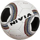 Nivia Football (Black and White)