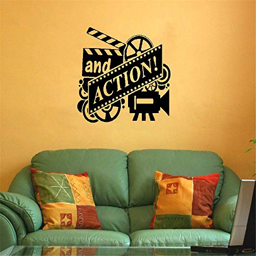 Wandtattoo Kinderzimmer Action Film Film Reel Cinema Heimkino Theater Dekor Film Aktion