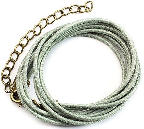Cousin 3481413 Cotton Multi-Strand Cord Necklace Starter Kit, 18