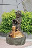 Premier Girl with Jug Lit Water Feature