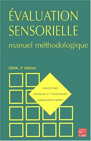 Evaluation sensorielle : Manuel mthodologique