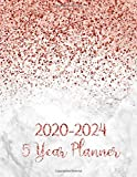 5 Year Planner 2020-2024: Monthly Notebook, Book, Planner, Organizer, Calendar To Organize Your Monthly And Yearly Agenda, Schedule 2020, 2021, 2022, ... Elegant Mable (2020-2024 calendar planner)