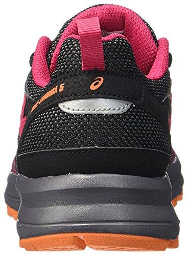 Chaussure Trail Tambora Pied Womens Rose Noir 5 Argent SS16 ASICS Course De à 5TIUqwTnda