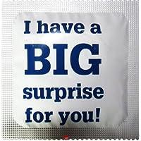 I Luv LTD Big Surprise Neuheit Condom 3er Pack preisvergleich bei billige-tabletten.eu