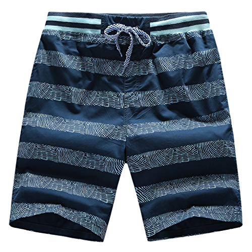 Orvis Womens Shorts (OrchidAmor 2019 Herren Sommer-Shorts mit Kordelzug - blau - 4X-Groß)