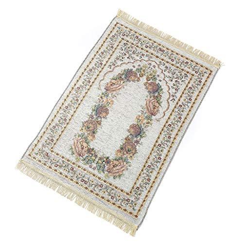 ZChun - Alfombra de oración islámica turca