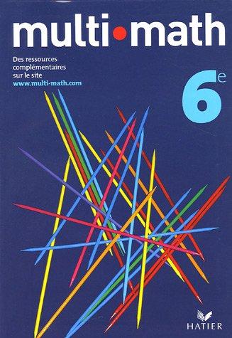 Multi-math : Manuel, 6e