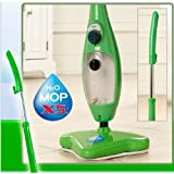 #9: iBubble H2O X5 Steam Mop 5 In 1 Steam Cleaner Steamer