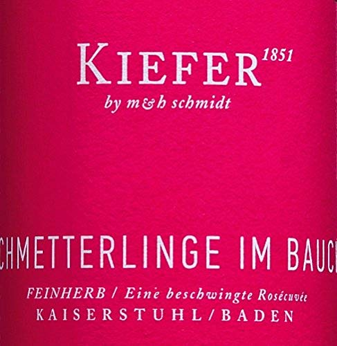12er-Paket-Schmetterlinge-im-Bauch-Ros-2018-Weingut-Kiefer-halbtrockener-Roswein-deutscher-Sommerwein-aus-Baden-12-x-075-Liter