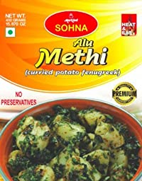 Sohna Ready To Eat -Alu Methi (450 Gram) Pack Of 1- Sbtm