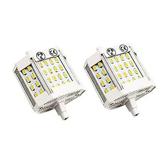 Bonlux 10w r7s led bulb 78mm warm white 3000k 200 degrees for R7s led 78mm 100w