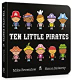 Ten Little Pirates Board Book