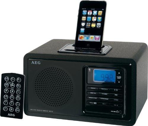 AEG MR 4115 I Uhrenradio mit iPod-Dock Ipod Shuffle Docking-system
