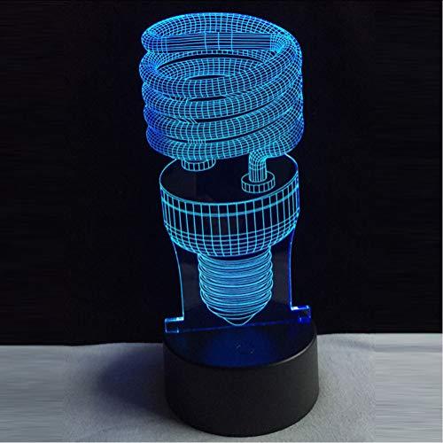 Mmzki Neue3D Kind Schlaf Lampe Kinder Tag Einzigartiges Geschenk 7 Farbwechsel Taschenlampe Usb Tisch Schreibtisch Lampe Dekoration Für Home Boy Spielzeug