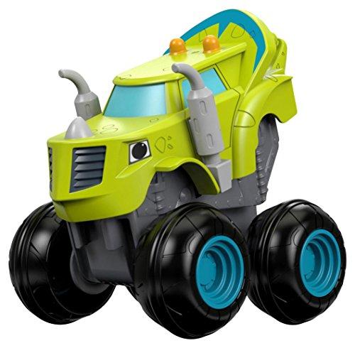 Fisher-Price Blaze and The Monster Machines DTK31 De plástico vehículo de Juguete - Vehículos de Juguete (Verde, Camión, De plástico, Interior / Exterior, 3 año(s), Niño/niña)