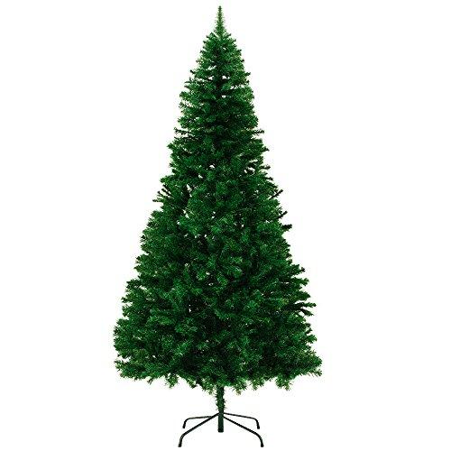 Deuba® Árbol de Navidad artificial frondoso con