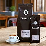 Dinzler Kaffeerösterei - Espresso Brasil - 1kg, ganze Bohne