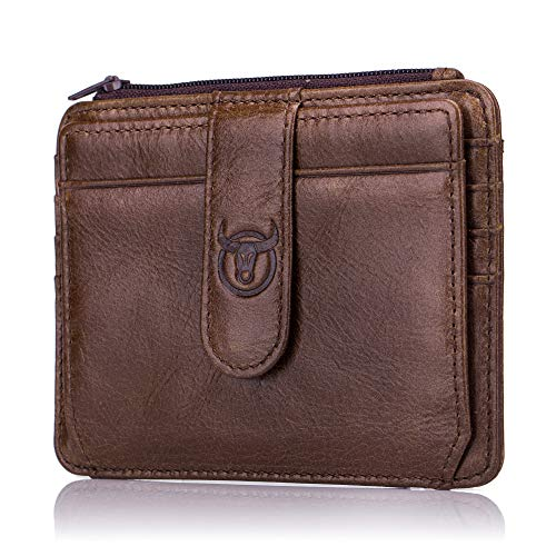 c50a7b3f2d HASAGEI Portafoglio Uomo Piccolo Sottile Mini Porta Carte Credito Uomo  Pelle con Protezione RFID PortaTessere per donna o uomo