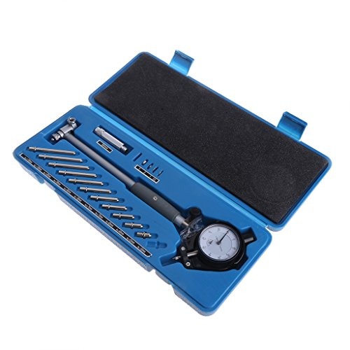Qiman Dial Bore Gauge 50-160mm Lochanzeige Messzylinder Gage Tool Kit -