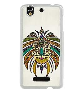 Tribal Art 2D Hard Polycarbonate Designer Back Case Cover for YU Yureka :: YU Yureka AO5510