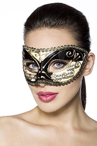 ILAVO® Ballmaske - venezianischer Stil - Party - Club Maske (Club Venezianische)